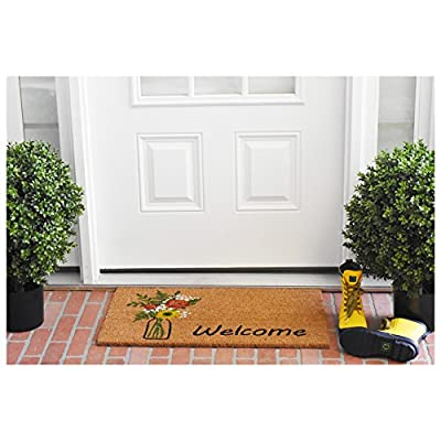 "Calloway Mills 103381729 Summer Bouquet Doormat, 17"" x 29"" Multicolor"
