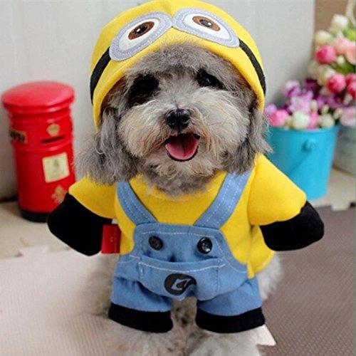 Minion Costume For Dogs (Minion Pet Costume (L))