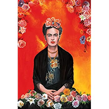 Amazon.com: Poster Frida Kahlo (Painting) Printed on Paper