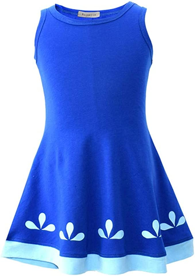 Trolls Poppy Dress - Peluca de Troll, Color Azul, para Fiestas de ...