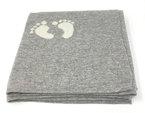 effe bebe Cashmere and Merino Wool Blend Baby Blanket 30