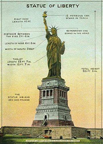 - Cavallini & Co. Statue of Liberty Decorative Paper Sheet
