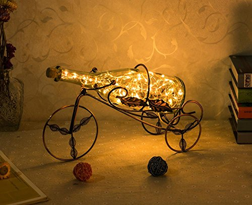 Creative Wine Rack Gift Lamp European Style Bedroom Living Room Bedside Lamp Decorative LED , ()