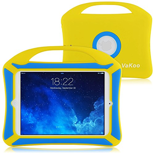 VAKOO iPad Mini Case, iPad Mini 3 2 1 Case Kids Proof Shockproof Drop Proof Soft Silicone Portable Light Weight...
