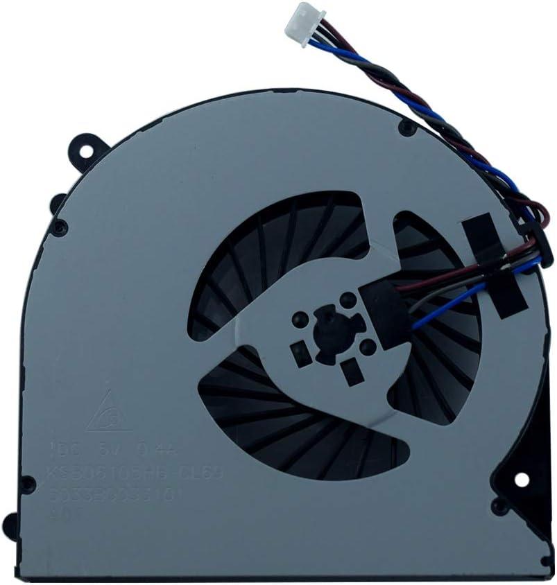 Replacement Laptop CPU Cooling Fan Compatible for Toshiba Satellite L50-A L50T-A L50D-A L50DT-A L55-A L55T-A L55D-A Series KSB06105HB-CL69 6033B0033101