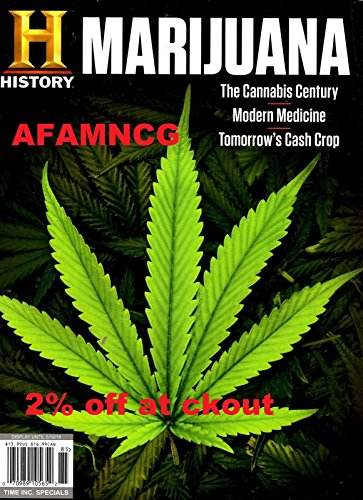 2% off History Channel Magazine (AFAMNCG) 2018 Cannabis Century Cash Crop Medicine MARIJUANA