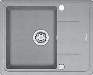 Bevorzugt Franke Basis BFG 611-62 Steingrau Granit Spülbecken Küchenspüle TZ64