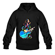 Men's Foo Fighters Dave Grohl Poster Hoodies Black