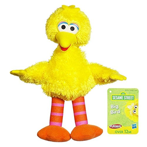 Sesame Street Plush Big Bird, 10 Inch (Sesame Street Stuffed Animals)