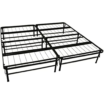 this item epic furnishings durabed steel foundation frame in one mattress support system foldable bed frame king size - Fold Up Bed Frame