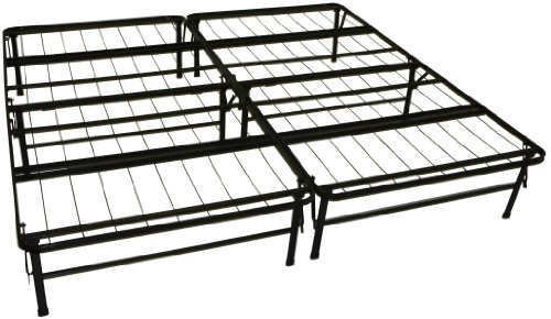 DuraBed Steel Foundation & Frame-in-One Mattress Support System Foldable Bed Frame, - Futon California Frame