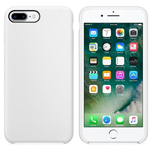 Price comparison product image For iPhone 7 Plus Case, HP95(TM) Ultra-thin Slim Silicone Soft TPU Case Cover Skin For iphone 7 plus For Iphone 7 Plus (White)