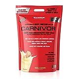 MuscleMeds Carnivor Beef Protein Isolate Powder, Vanilla Caramel, 100 Servings