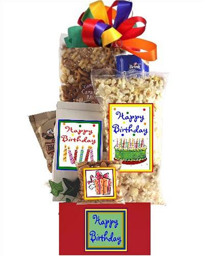 Happy Birthday Basket Gift Ideas