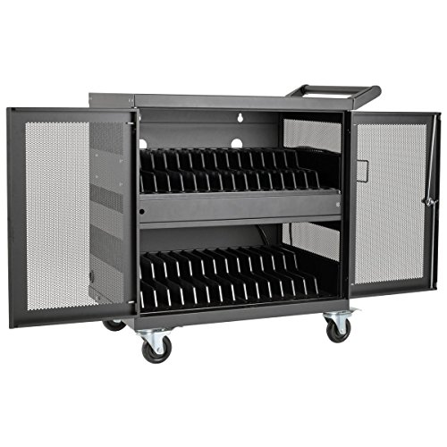 Tripp Lite 32-Port USB Charging Cart Storage Station for iPad & Android Tablets, Charge & Sync (CSC32USB) (Cart Charge)