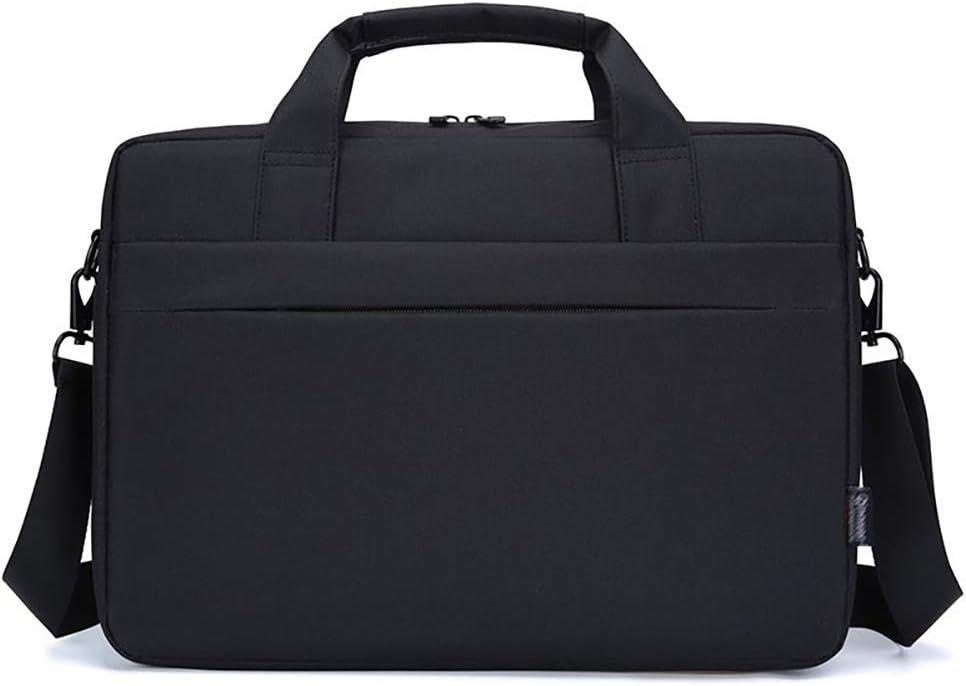 Tinaforld Laptop Bag 14-15.6 Inch Briefcase Shoulder Messenger Bag Water Repellent Laptop Bag Satchel Tablet Bussiness Carrying Handbag Laptop Sleeve for Women and Men (14Inch, Black)