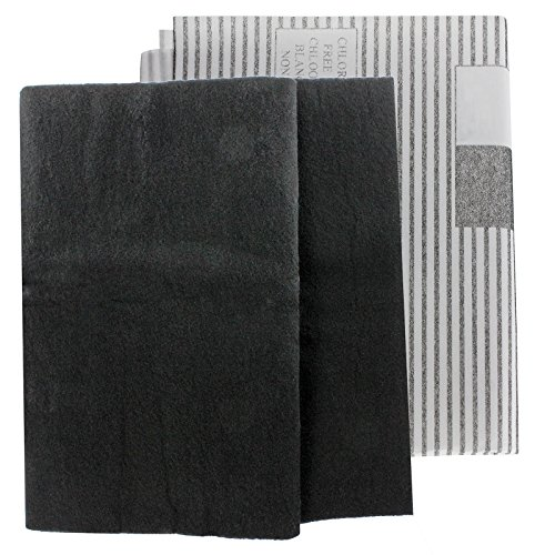 Spares2go Large Cooker Hood Grease Filters for Bosch Vent Extractor Fans (2 x Filter, Cut to Size - 100 cm x 47 cm)
