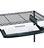 InterMETRO CKS1522BL Keyboard Tray