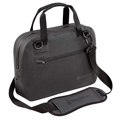 Skog Å Kust BriefSåk Pro 100% Waterproof & Airtight Messenger Bag | Black, 13