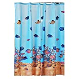 JaHGDU Shower Curtain 1pcs Printing Shower Curtain Polyester Waterproof Simple Bathroom Amenities Opaque Durable Washable Bath Toilet Shade Super Quality (Size : 200cm200cm)