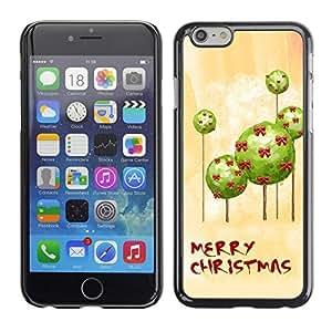 YOYO Slim PC / Aluminium Case Cover Armor Shell Portection //Christmas Holiday Mery Christmas 1168 //Apple Iphone 6 Plus 5.5