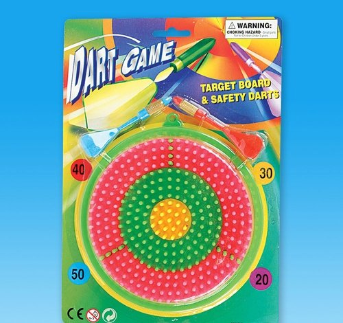 6.5'' DART GAME, Case of 144
