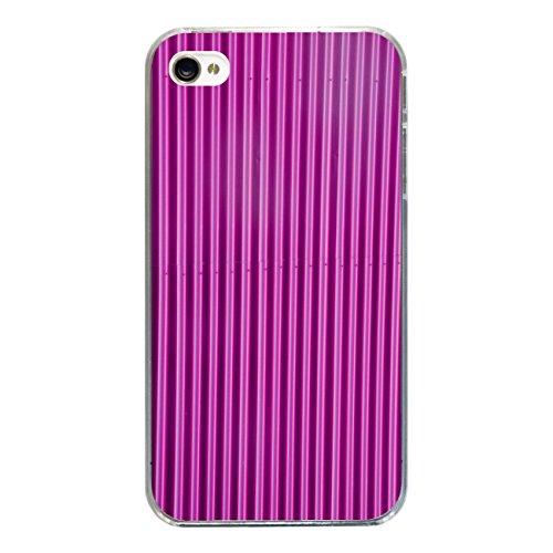 """Disagu Design Case Coque pour Apple iPhone 4 Housse etui coque pochette """"Blechoptik Pink"""""""