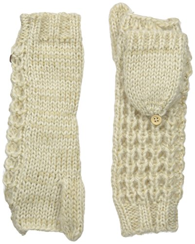 Coal Women's The Kate Flip Mitten, Creme, One Size
