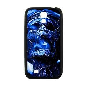 Blue Skull Custom Protective Hard Phone Cae For Samsung Galaxy S4 Kimberly Kurzendoerfer
