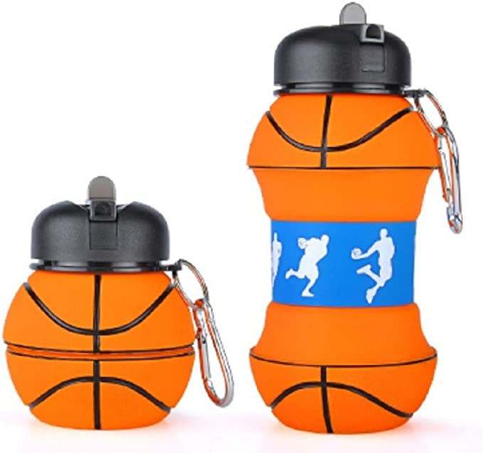 2 PCS 200ml Foldable Water Cup Outdoor Portable Sports Travel Collapsible Bottle