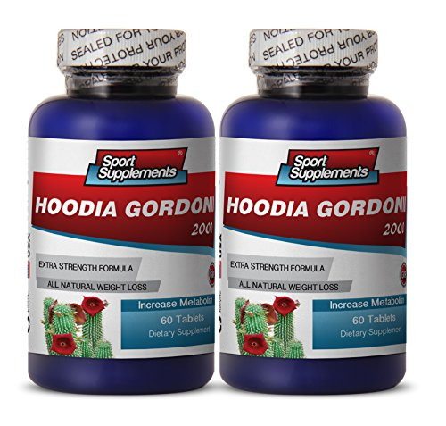 - Hoodia Hoodia Gordonii Tincture Extract Liquid - Hoodia Gordonii Cactus 2000mg Diet 120 Tablets - Hoodia Gordonii Supplement to Burn More Calories and Strengthen Your Immune System (2 Bottles)