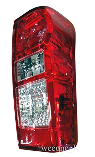 K1AutoParts 1 Right Side Rear Taillights Tail Light Lamps (For L.E.D Brake Light) For Isuzu D-max Dmax 2012 2013 2014