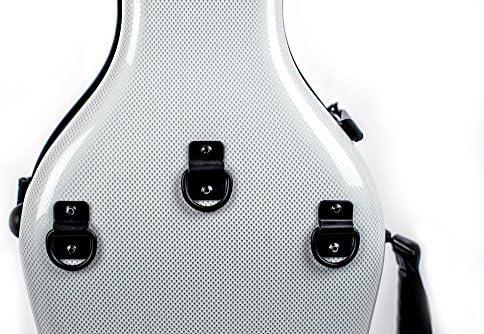 Tonareli - Estuche para violín fibra de vidrio 4/4 sonderausgabe perlado grafito vnf1016 + ordenador funda - autorizado Comercial: Amazon.es: Instrumentos musicales