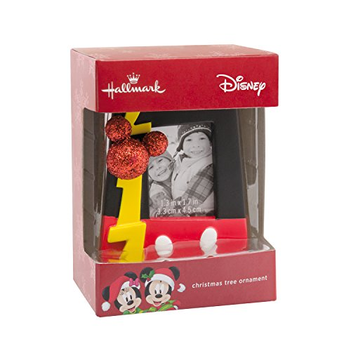 Hallmark Disney Mickey Mouse 2017 Picture Frame Christmas - Christmas Ornaments Mickey Disney Mouse