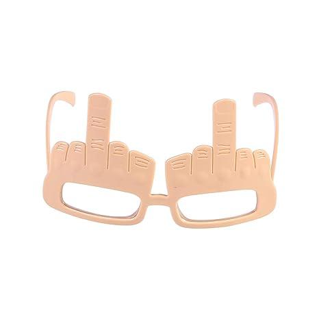 Amosfun Party Glasses Frames Eyeup Eyeglasses Marcos de Lujo para Halloween Disfraz de Fiesta de Disfraces