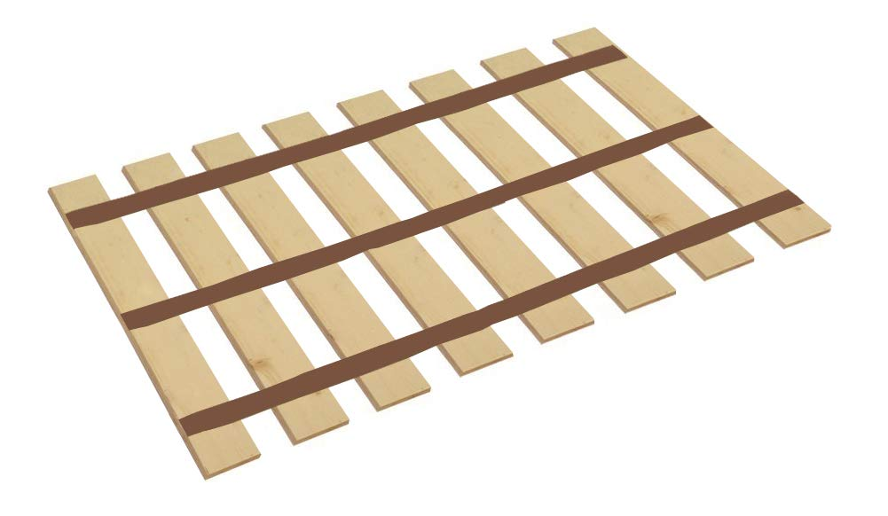 Amazon Com Full Size Wood Bed Slats Cut To The Custom Bed Width