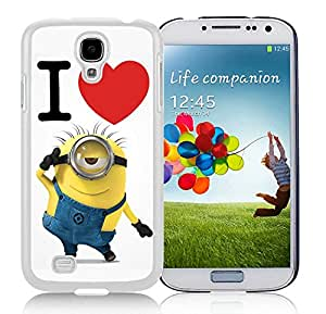 Personalized Case Despicable Me 8 White Case for Galaxy S4 I9500