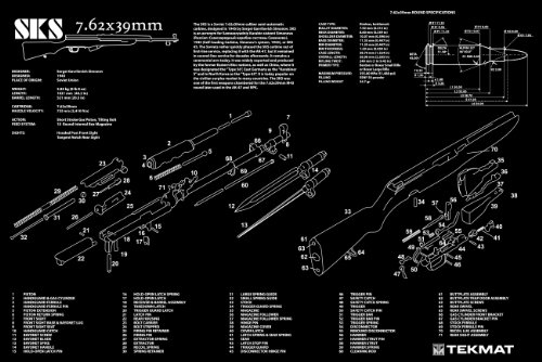 Sks parts schematic wire center amazon com ultimate arms gear sks 7 62x39mm rifle gunsmith rh amazon com sks parts breakdown chinese sks parts publicscrutiny Choice Image