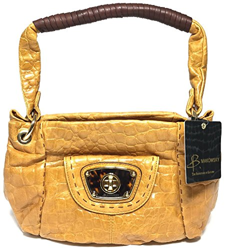 B. Makowsky Nutmeg Victoria Hobo BM14010 for sale  Delivered anywhere in USA