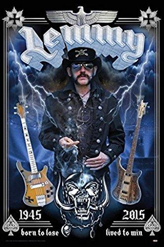 Lemmy Tribute - Born to Lose Poster Art Print (24x36)