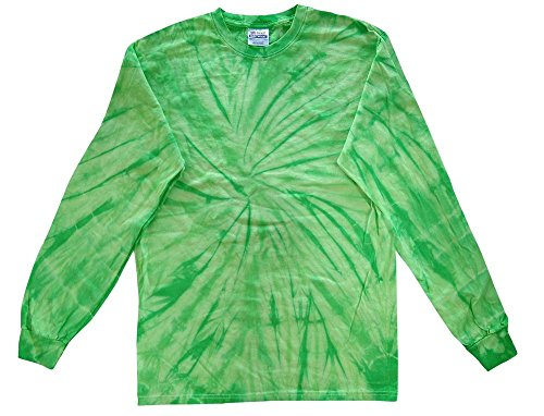 rts Spider Lime Long Sleeve Kids & Adult Sizes (Large) ()