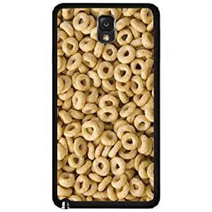 Funny O's Cereal- Plastic Phone Case Back Cover Samsung Galaxy Note III 3 N9002