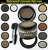Finally Hair Black Dab-on Hair Fibers & Hair Loss