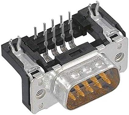 D-SUB CONN TH, PLUG 09651627812 9POS Pack of 10