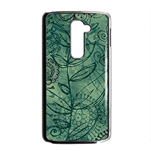 Artistic aesthetic flowers fashion phone case for LG G2