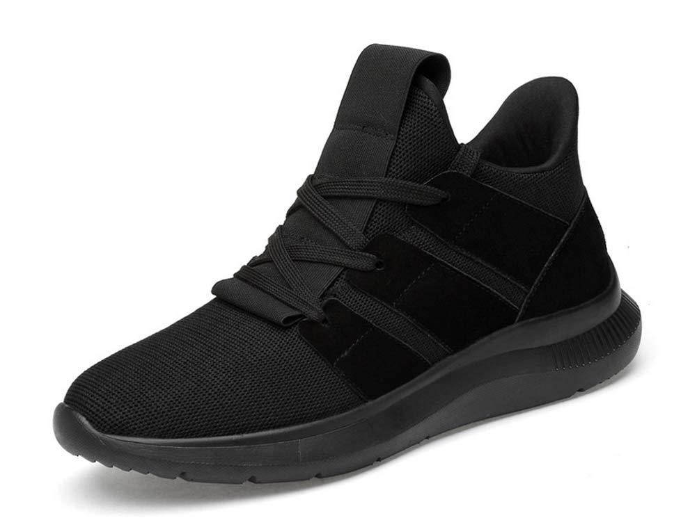 Uomini Leggero in Esecuzione Scarpe Autunno Nuovo Gli Sport Inghilterra Scarpe Moda Scarpe da Ginnastica (colore   Nero, Dimensione   41 EU)