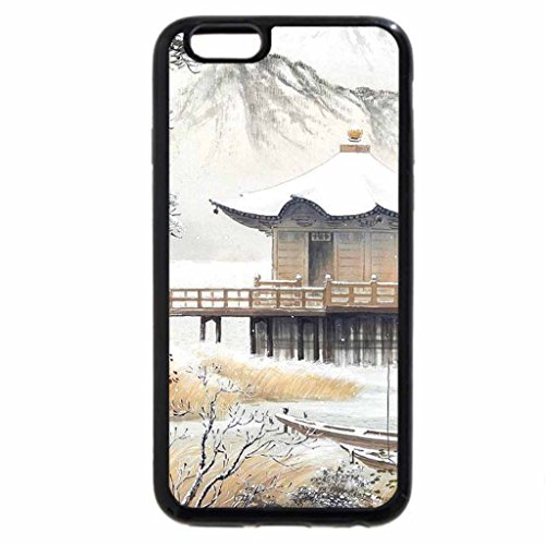 iPhone 6S / iPhone 6 Case (Black) Koukei Kojima. snowy silence