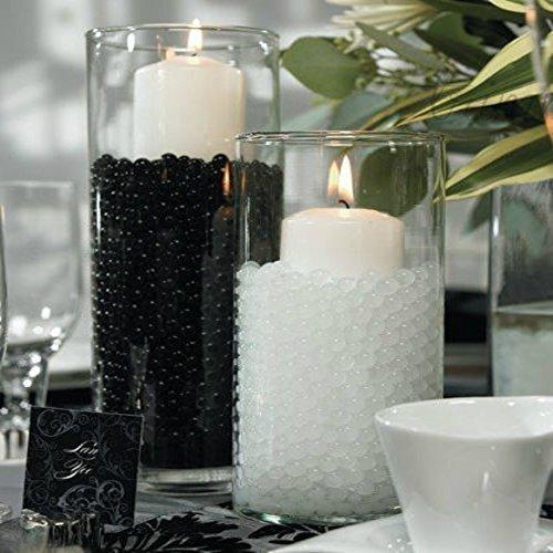 Trimming Shop 5packs x de abalorio de Bio Gel de vidrio–Gran Centro de Mesa para Bodas de 5g, Negro, 5G, 5
