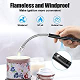 Candle Lighter, Rechargeable Electric Arc Lighter
