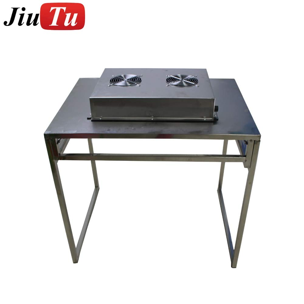 FINCOS Folding Free Installation Dust Free Room Workshop Laminar Flow Hood Bench Air Flow Clean Workstation